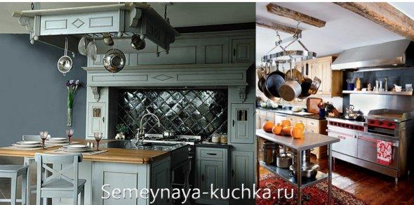 подвесной держатель для сковородок