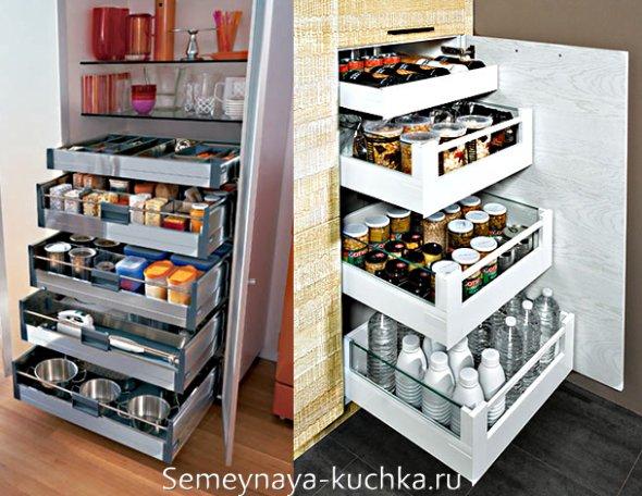 где хранить кухонные мелочи