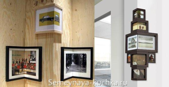угловые рамки для косяков и дверных проемов