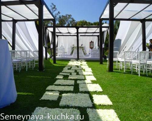 зона для жениха и невесты