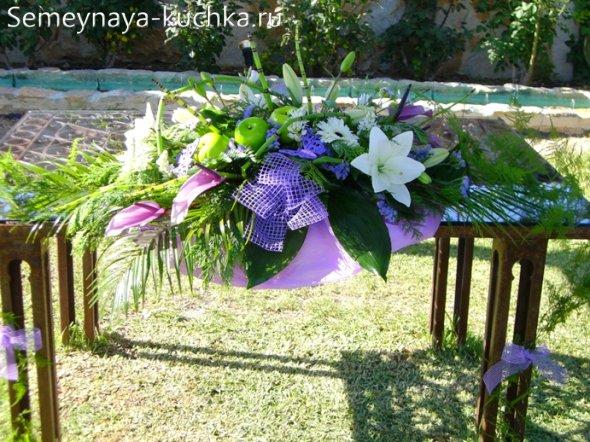 свадьба во дворе