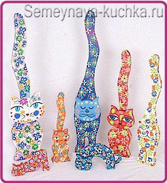 деревянные кошки своими руками