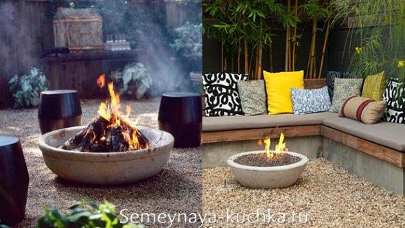 идея простого места для огня