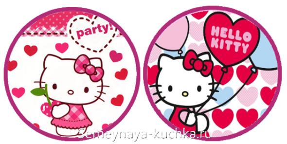 часы Hello Kitty сделать своими руками