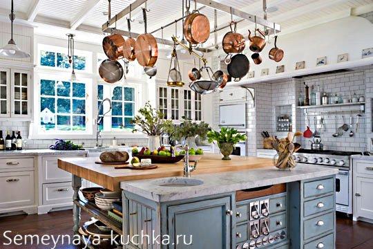 держатель для кастрюль на кухне