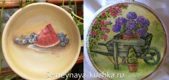 поделки-картины на сковороде