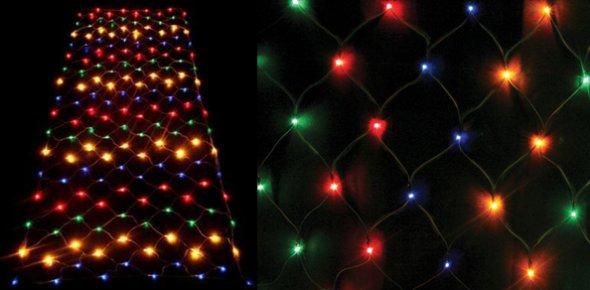 светодиодные сетки для освещения зоны отдыха
