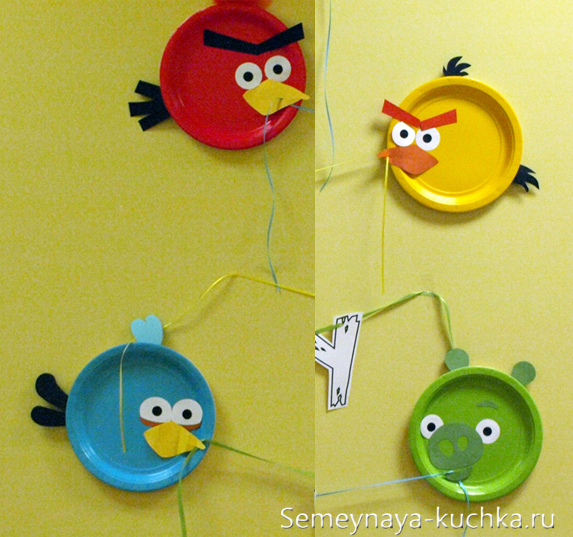 день рождения Angry Birds