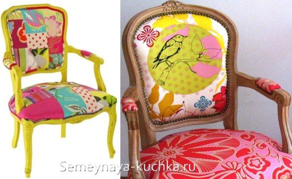 как обновить стулья
