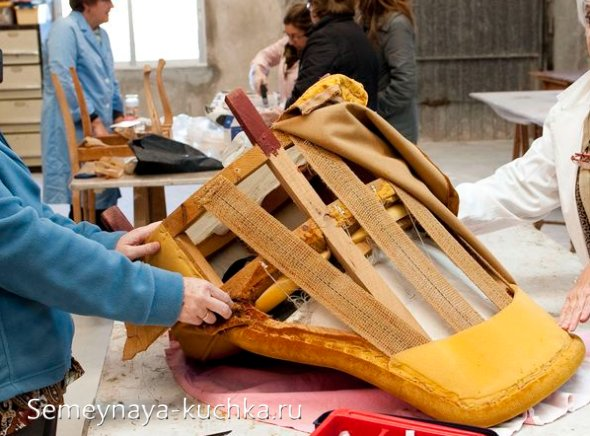 как обновить стулья-кресла своими руками