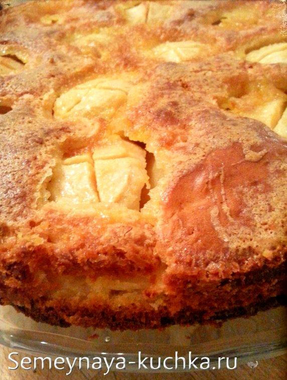 заливной пирог с хрустящей корочкой