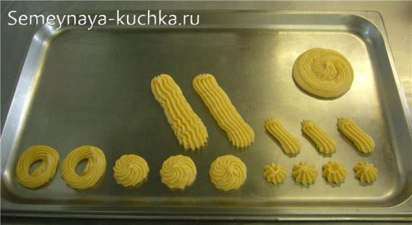как выпекать заварное тесто