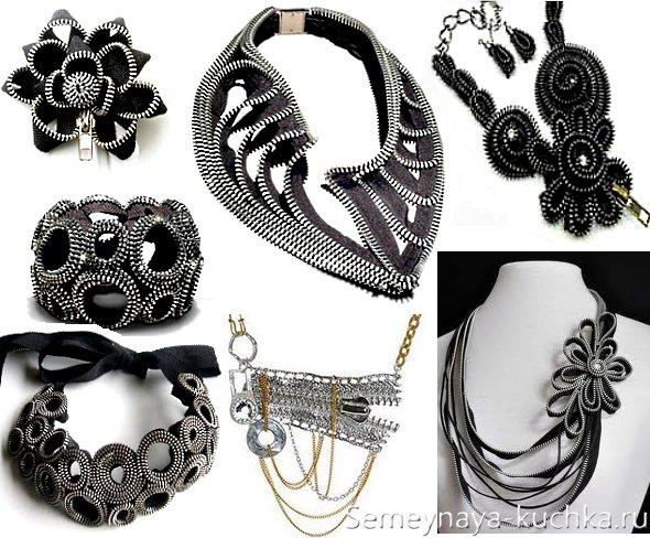 купить ожерелье из молнии