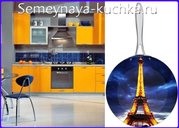 дизайн кухни французский