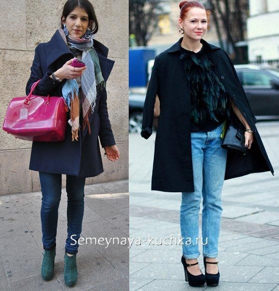 с чем носить пальто осенью и весной