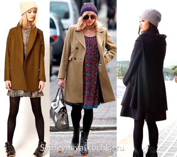 как подобрать шапку под пальто