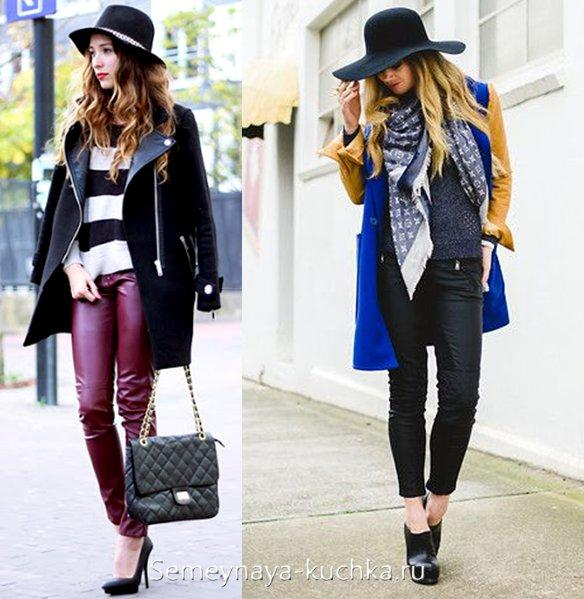 какую шапку носить с пальто