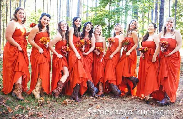 как сфотографировать подружек невесты