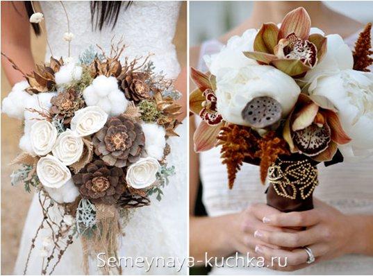 букет невесты для осенней свадьбы
