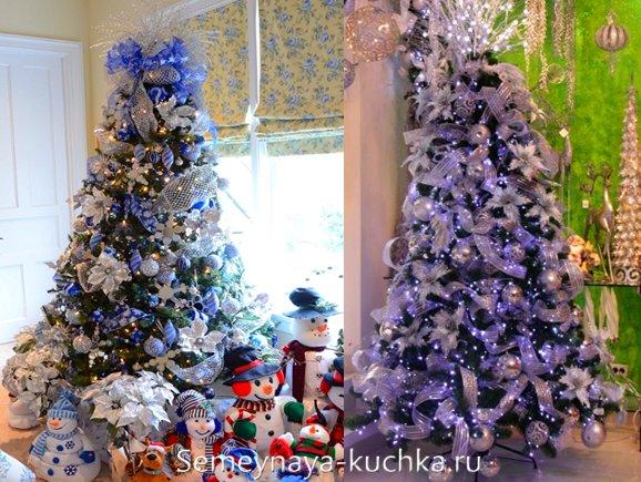 елка для синего нового года