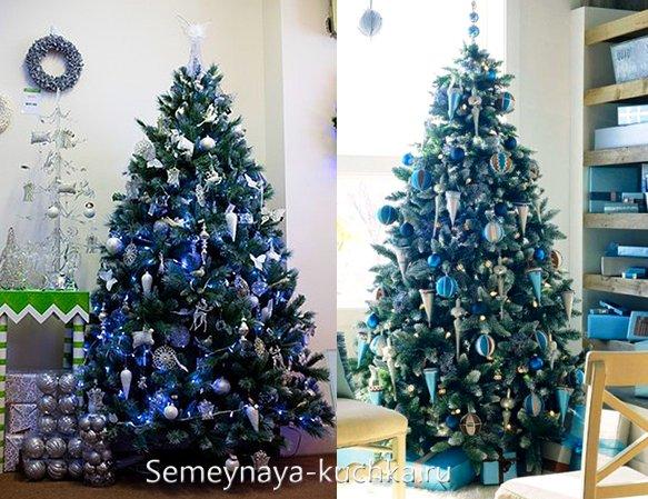 синяя елка