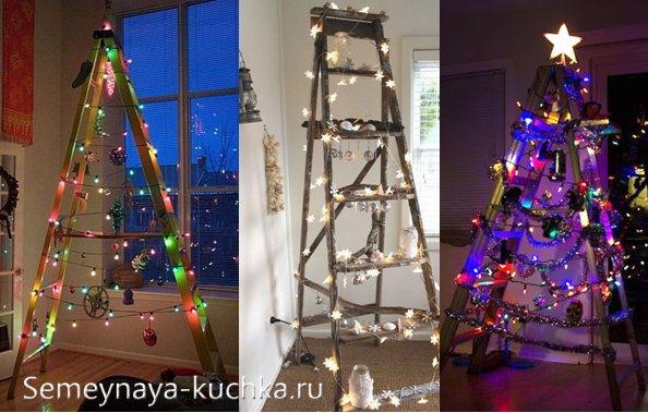 как украсить новогодний офис