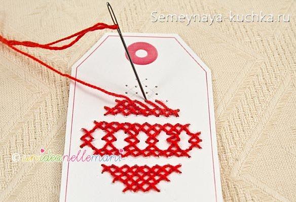 вышивка для детей новогодняя