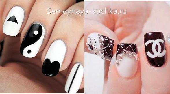 символы и бренды на ногтя