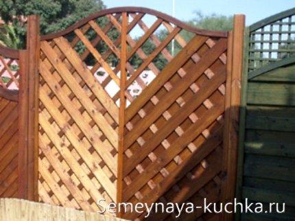 ворота деревянные для дачи