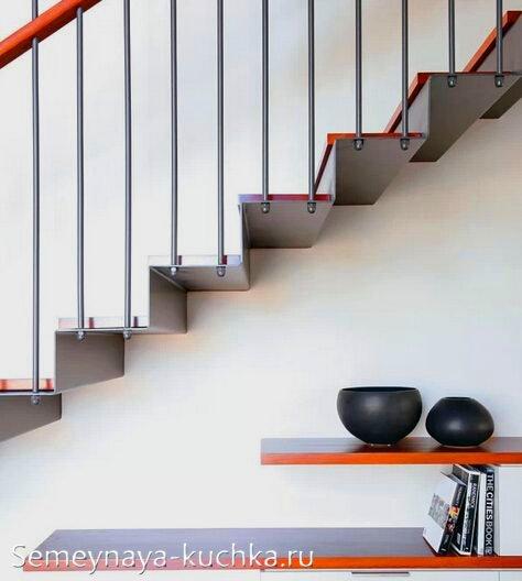 консольная лестница для дома