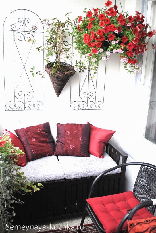 отделка и дизайн балкона