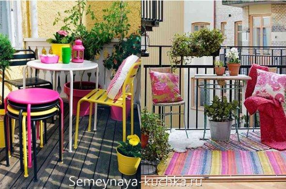 как выбрать цвет для балкона