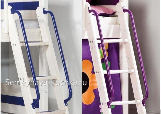 перила для лестницы на чердак