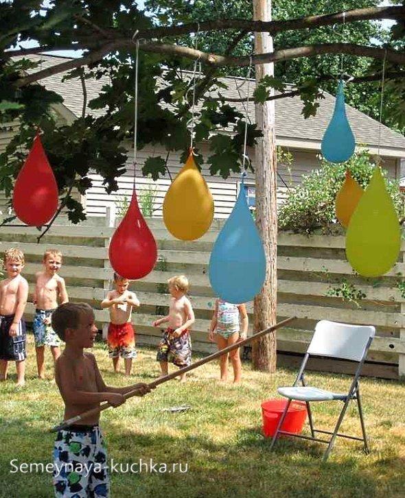 игры с водой на даче