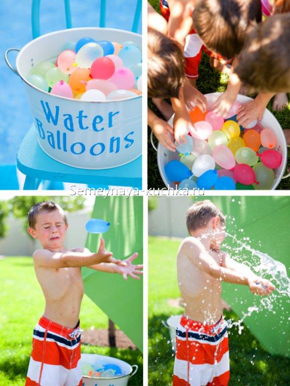 игры в водяные бомбочки
