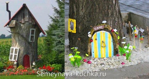 домик для фей на детской даче