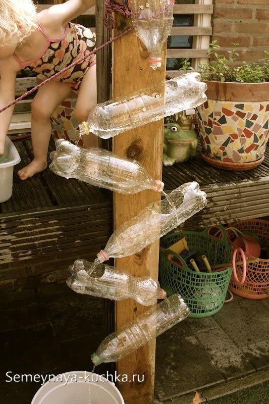 детские игры с водой на даче