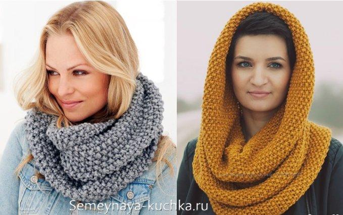 шарф-хомут своими руками