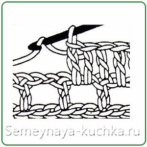 правила филейного вязания