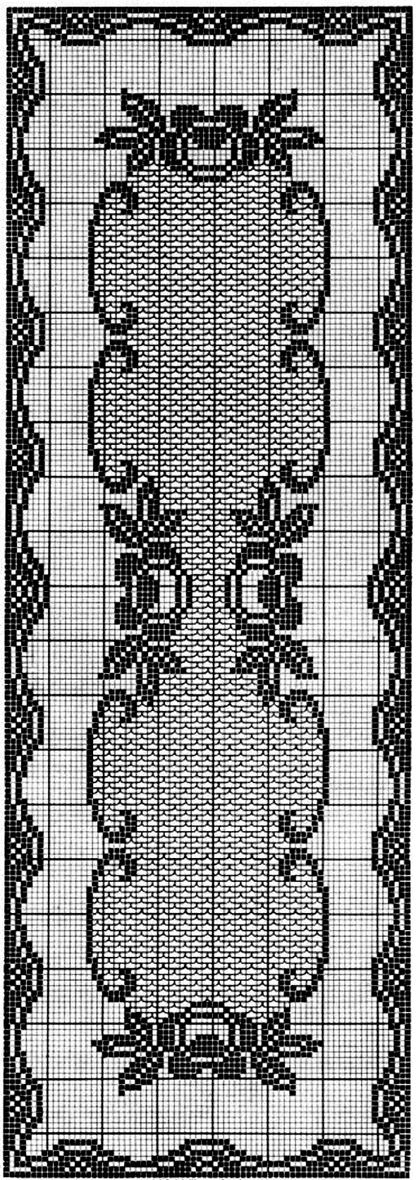 филейная схема салфетки