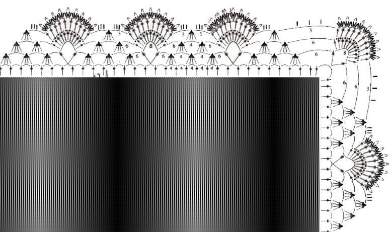 схема обвязки квадратной салетки