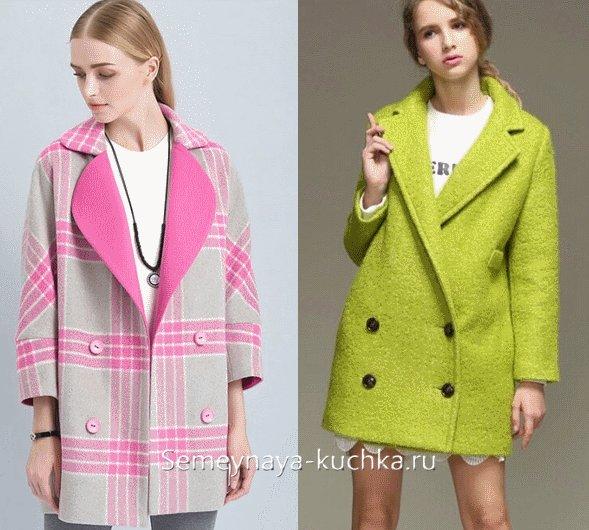 модное пальто на весну