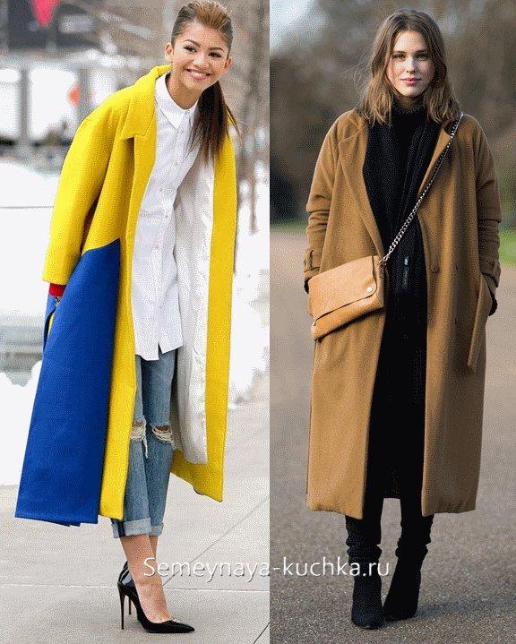 длинное весеннее пальто