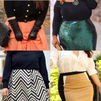 юбки для полных женщин