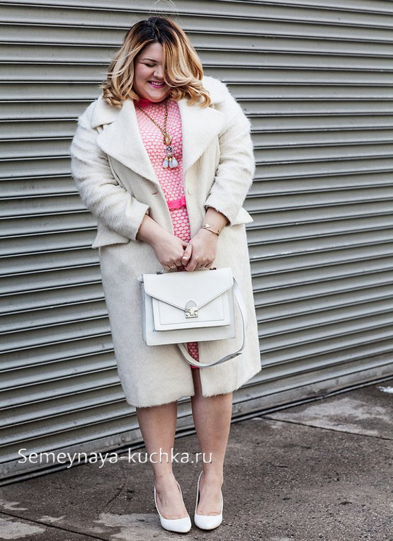 модные пальто для полных женщин