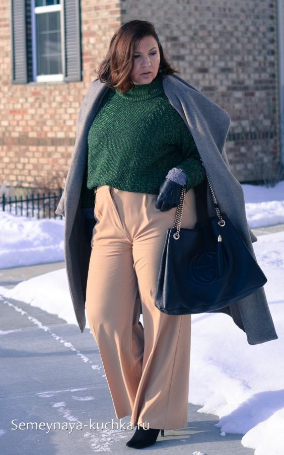 мода полной женщины после 50