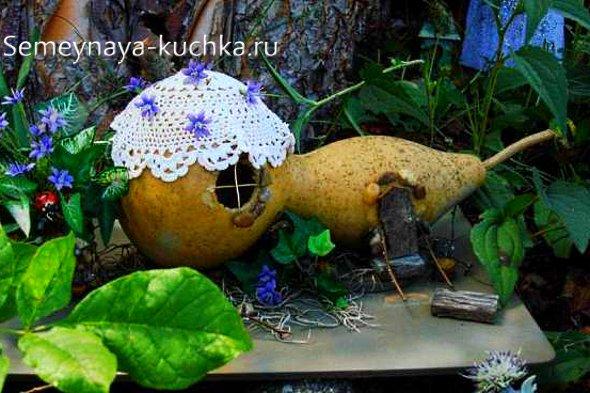 домик из тыквы как сделать