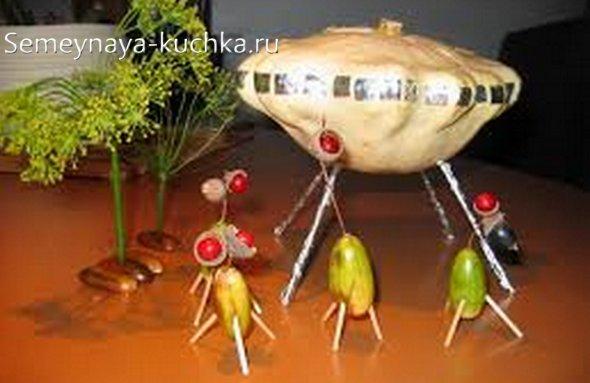 поделка для мальчиков из тыквы