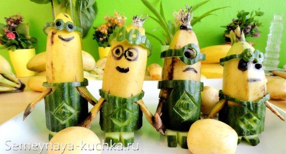 поделки из бананов