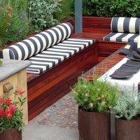 отдых в саду на даче